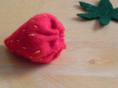 More strawberries - long-lasting ones - #art, #diy, craft