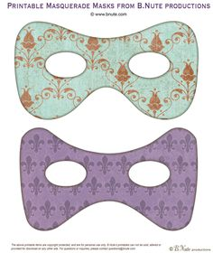 freeprintablemasquerademasks
