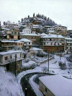 Greece, Landscapes, Wanderlust, Snow, Winter, Pictures, Travel, Outdoor, Greece Country