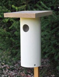 Do-it-yourself Pipe House :: Solve :: Bird Watcher's Digest :: Do It Yourself :: Bird Watcher's Digest.com #buildabirdhousekit