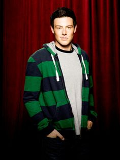 Cory Monteith as Finn Hudson of Glee. He's so sweet. But he's really only up here for my mom.
