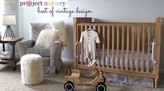 {Video} Best of Vintage Decor in the Baby's Room - #nursery #vintage