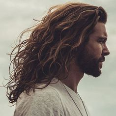 19 Best Long Hairstyles For Men + Cool Haircuts For Long Hai Trendy Mens Haircuts, Haircuts For Wavy Hair, Wavy Hair Men, Cool Hairstyles For Men, Haircuts For Long Hair, Undercut Hairstyles, Long Hair Cuts, Cool Haircuts, Men Undercut