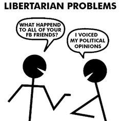Libertarian Problems.