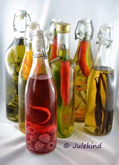 Julekind: Tutorial: Essig, Öl und Essenzen
