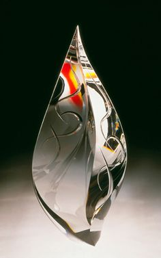 CHRISTOPHER RIES | Crystal Glass Sculpture by Christopher Ries at Schantz Galleries