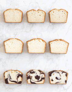 poundcake. 9 ways. #foodporn #yummy #gif