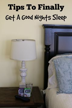 Tips To Finally Get A Good Nights Sleep! nightsright ad