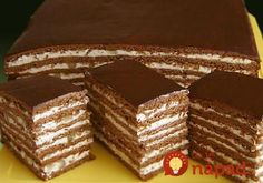 Druh receptu: Sladkosti - Page 63 of 326 - Mňamky-Recepty. Russian Cakes, Russian Desserts, Pastry Recipes, Cake Recipes, Dessert Recipes, Ukrainian Recipes, Russian Recipes, Just Desserts, Delicious Desserts