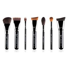 Sigma Highlight and Contour Brush Set (490 BRL) ❤ liked on Polyvore featuring beauty products, makeup, makeup tools, makeup brushes, beauty, fillers, contour brush, angled contour brush, angled makeup brush and slanted makeup brush