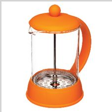 Portstyle    6 Cup (Coffee)French Press in Orange