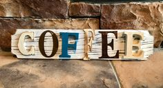 Rustic Coffee Sign Wall Decor Farmhouse Style Home Decor https://www.etsy.com/listing/572132812/rustic-coffee-sign-wall-decor-farmhouse