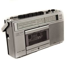 Vintage Cassette Tape Player Geek Chic $40 http://www.goodmerchants.etsy.com