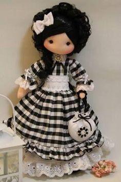 Lucre com as mais lindas bonecas de pano personalizadas - com molde