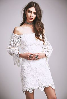 [ Short Wedding Dresses People Dusk Lace ] - Best Free Home Design Idea & Inspiration Lace Wedding Dress With Sleeves, Lace Party Dresses, Perfect Wedding Dress, Best Wedding Dresses, Boho Wedding Dress, Boho Dress, Wedding Outfits, Reception Dresses, Lace Sleeves