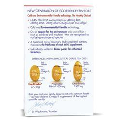 Amazon.com: UnoCardio: A New Generation of Eco-friendly +95% Omega-3 Fish oil - 60 Softgels: Health & Personal Care