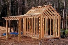 Wood Shed Plans   CLICK THE PICTURE For Many Shed Ideas. #shed #sheddesigns