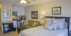 Weekly Beachers Lodge Studio Apartment Rental in St. Augustine from First Choice Florida Vacation Rentals.