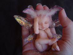 OOAK baby bunny fae, Roxanne74
