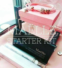 Maëlle starter kit!! So beautiful and it's only $89 to join!! www.maellebeauty.com/store/RoxieHopkins