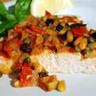 Sicilian Swordfish.  We did this one night on a whim and oh was it sublime!