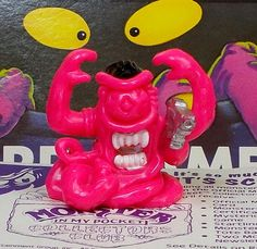 Monster in my Pocket - 178 Creature from the Black Hole - Space Aliens Space Aliens, My Pocket, Ebay