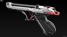 "ArtStation - NM9 - 1 ""水燕"", AFI _ Future Weapons, Sci Fi Weapons, Apocalypse Survival, Custom Guns, Military Equipment, Engineer, Firearms, Arsenal, Hand Guns"