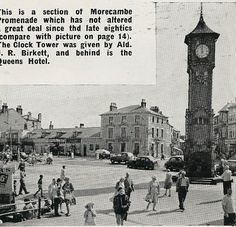 Morecambe Promenade 1962 Morecambe, Seaside Resort, Local History, Lancaster, Great Deals, Geography, Big Ben, Tower, England