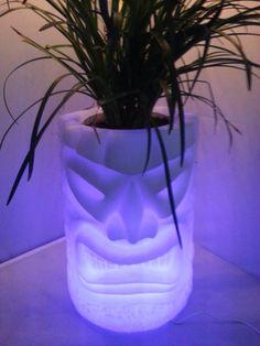 LED Tiki  Planters