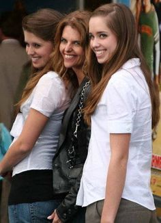 Maria Shriver and her Daughters