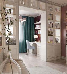 Smartest Way Maximize Small Spaces Decor Idea - Smart Decoration Ideas House Rooms, Space Decor, Living Room Partition, Home Office Design, Home Room Design, Home Decor, House Interior, Contemporary Home Decor, Decorating Small Spaces