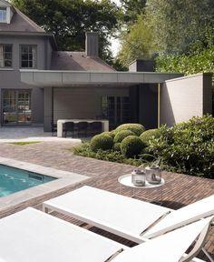 Outdoor Area by JUMA Architects