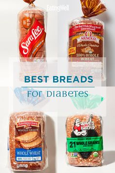 Bread is a tricky product to buy, especially for people with diabetes. - Diabetes Tips Diabetic Bread, Diabetic Food List, Diabetic Meal Plan, Healthy Recipes For Diabetics, Diabetic Snacks Type 2, Healthy Dishes, Diabetic Breakfast Recipes, Healthy Meals, Diabetic Desserts