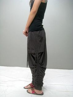 TIM harem pants NEW by thaitee on Etsy $41