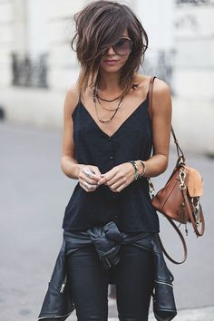 Fall Street Outfits That Will Change Your Mind - Fall Street Outfits That Will Change Your Mind 43 Trendy And Irresistible Street Style Ideas To Wear This Season Look Fashion, Fashion Beauty, Winter Fashion, Spring Fashion, Womens Fashion, Fashion Trends, Fashion 2016, Dress Fashion, Fashion Clothes