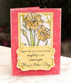Mother's Day  #cards #crafts