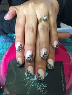 Acrylic nails, nails art, nails, nude nails