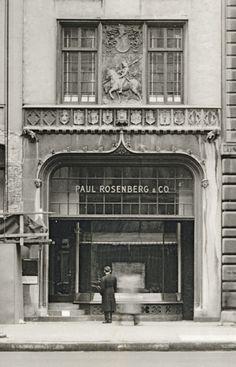"""Paul Rosenberg Gallery, Street, New York, Paul Rosenberg, Art Français, Expositions, Rue, Les Oeuvres, Jewelry Art, Street, Gallery, Maillol"