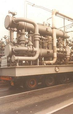 LARGE LUBRICATION SYSTEM IN TRANSIT