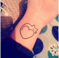 If I get a cat, I think i'm gonna get this with their wittle paw print inside the heart