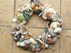 Decoración con conchas de mar