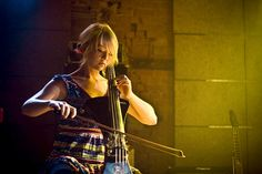 Sarah Balliet by Elpis., via Flickr  (band: Murder By Death, instrument: Cello)