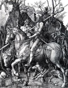 The Knight, Death and the Devil - Albrecht Durer