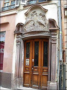 Strasbourg-art nouveau -door | Flickr - Photo Sharing!