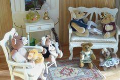 Beautiful bears of Dinie van Duin