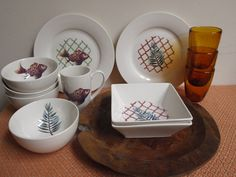 south african garden collection leaves fish plates bowl mugs catchii interior design homeware