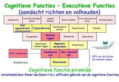 Cognitieve Functies Executieve Functies aandacht richten en volhouden EvD