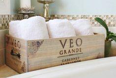 10 formas de decorar tu casa con cajas de vino