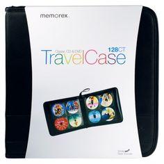 Target: Memorex Classic CD & DVD Travel Case 128-ct.