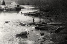 Elver fishing in the Medomak River